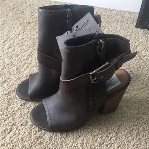 Shoes - 4/$25Open toe bootie by DV